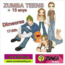 CLASSES DE ZUMBA PER ADOLESCENTS