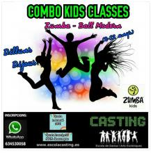 COMBO KIDS CLASSES Zumba®i Ball Modern